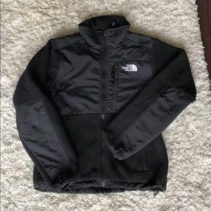 North Face Denali Fleece Jacket, black, women's XS